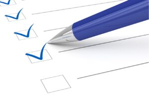checklist of posting requirements